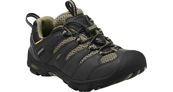 Keen Koven Low WP Hiking Shoes Children black/burnt olive
